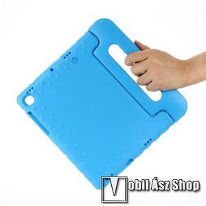 Shockproof műanyag védő tok / hátlap - VILÁGOSKÉK - hordozható, asztali tartó funkciós, ERŐS VÉDELEM! - SAMSUNG SM-T725 Galaxy Tab S5e 10.5 LTE / SAMSUNG SM-T720 Galaxy Tab S5e 10.5 Wi-Fi kép