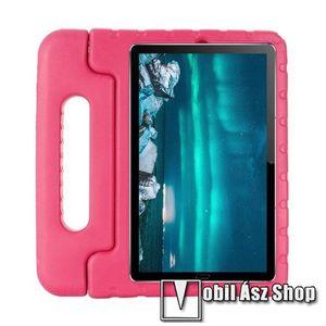 Shockproof műanyag védő tok / hátlap - MAGENTA - hordozható, asztali tartó funkciós, ERŐS VÉDELEM! - Huawei MediaPad M6 8.4 kép