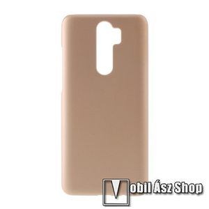 Műanyag védő tok / hátlap - Hybrid Protector - ARANY - Xiaomi Redmi Note 8 kép