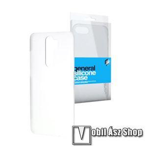 Xpro szilikon védő tok / hátlap - ULTRAVÉKONY! 0.33mm - ÁTLÁTSZÓ - Xiaomi Redmi Note 8 Pro kép