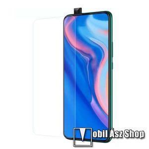 Előlap védő karcálló edzett üveg - 0, 3 mm vékony, 9H, Arc Edge, A képernyő sík részét védi - HUAWEI Honor 10 kép