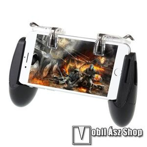 """GameSir F2 Kontroller / Joystick - ravasz FPS játékokhoz, 6.5""""-os méretig kompatibilis okostelefonokkal - FEKETE kép"""