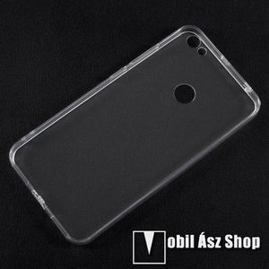 Szilikon védő tok / hátlap - FÉNYES - ÁTLÁTSZÓ - műanyag hátlap - Xiaomi Redmi Note 5A Prime / Xiaomi Redmi Y1 kép