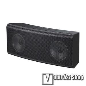 BASEUS Encok E08 hordozható bluetooth hangszóró - V5.0, 1500mAh belső akku, 3.5mm jack csatlakozó, kártyaolvasó, zenére VILÁGÍT! - FEKETE - CW-SMT/YMX - GYÁRI kép