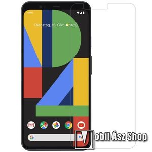 NILLKIN képernyővédő fólia - Crystal Clear - 1db, törlőkendővel - Google Pixel 4 - GYÁRI kép