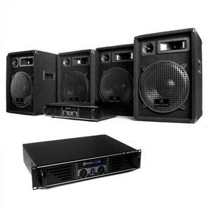 """Electronic-Star DJ PA szett: """"Bass Mountain"""" 2000W System, erősítő kép"""