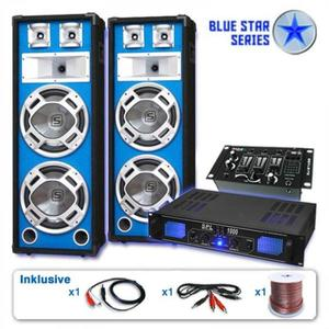 Electronic-Star BLUE STAR SERIES BASSKERN USB HANGOSÍTÓ KÉSZLET, 2800 W kép