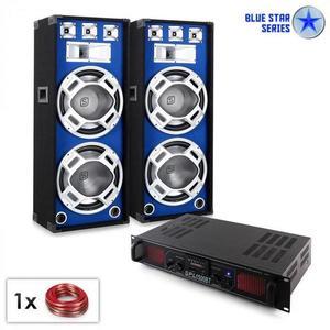 "Electronic-Star Blue Star Series ""Beatsound Bluetooth MP3"" PA szett, 1500W kép"