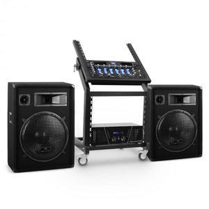 Electronic-Star Rack Star Series Venus Bounce DJ PA szett, Bluetooth kép