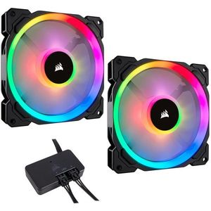 Ventilátor Corsair LL140 RGB LED 140 mm Static Pressure PWM kép