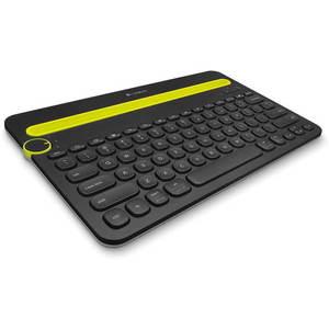 Logitech Bluetooth Multi-Device Keyboard K480 US fekete kép