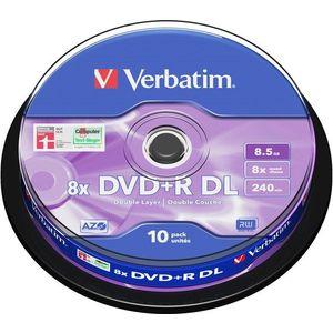 Verbatim DVD + R 8x kétrétegű 10p DVD/CD tartó kép
