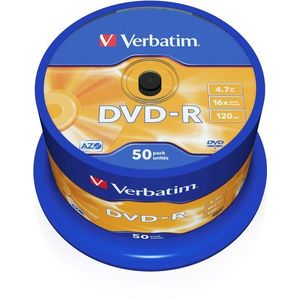 Verbatim DVD-R 16x, 50ks cakebox kép