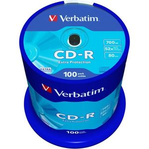 Verbatim CD-R DataLife Protection 52x, 100db kép