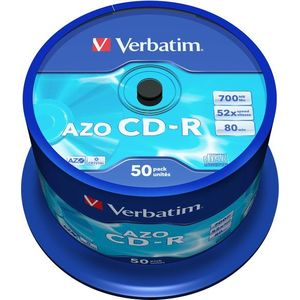 VERBATIM CD-R 80 52x CRYST. spindl 50db kép