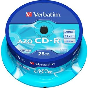 VERBATIM CD-R 80 52x CRYST. spindl 25db/csomag kép