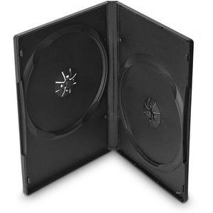 COVER IT DVD tok, 2 lemez - fekete, 14 mm, 10 db/csomag kép