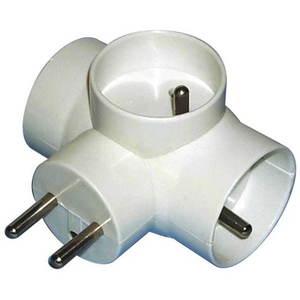 EMOS 3x kerek, fehér kép