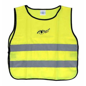 COMPASS Láthatósági mellény, sárga, gyerek kép