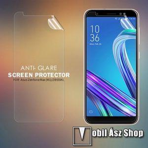 NILLKIN képernyővédő fólia - Anti-glare - MATT! - 1db, törlőkendővel - Asus Zenfone Max M1 (ZB555KL) (2018) - GYÁRI kép