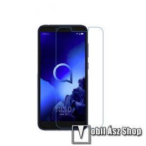 Képernyővédő fólia - Ultra Clear - 1db, törlőkendővel - ALCATEL 1 kép
