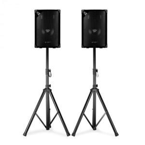 Skytec SL8, hangfal pár állvánnyal, 8''-es woofer, max. 200 W, 2 x állvány + táska kép
