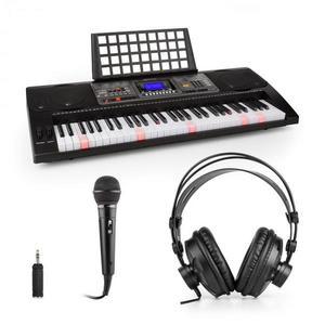 SCHUBERT Etude 450, gyakorló szintetizátor készlet, fejhallgatóval, mikrofonnal és adapterrel kép