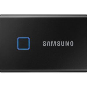 Samsung Portable SSD T7 Touch 1 TB, fekete kép