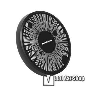 NILLKIN MC045 hálózati töltő állomás (vezeték nélküli töltés, QI Wireless, gyorstöltés támogatás, karbonminta, fogadóegység nélkül!, 15W (Max)) FEKETE - GYÁRI kép