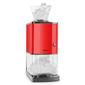 OneConcept Icebreaker, piros, jégdaráló 15kg/h teljesítménnyel, 3, 5 literes térfogattal, jégtartállyal, rozsdamentes acél kép