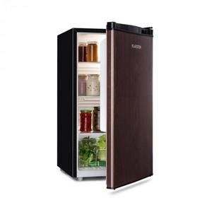 Klarstein Feldberg, hűtőszekrény, A+, MirageCool Concept, fa formatervezés, fekete kép