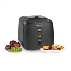 Klarstein Florida Jerky, élelmiszer szárító, infravörös, 500 W, 4 program, fekete kép