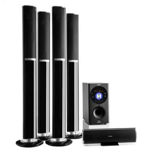 Auna Areal 652 5.1 csatornás surround rendszer, 145 W, RMS, bluetooth, USB, SD, AUX kép
