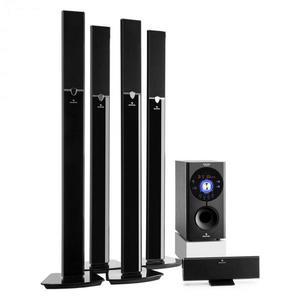 Auna Areal 653 5.1 csatornás surround rendszer, 145 W, RMS, bluetooth, USB, SD, AUX kép