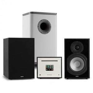 Numan Unison Reference 802 Edition, sztereó rendszer, erősítő, hangszórók, fekete/szürke kép