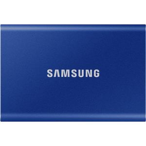 Samsung Portable SSD T7 500GB - kék kép