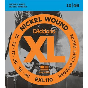 D'Addario EXL 110 Nickel Wound Regular Light kép