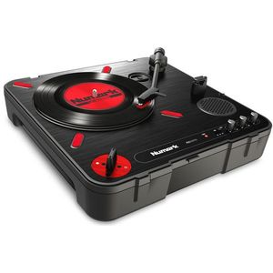 Numark PT01 Scratch Portable Turntable with Scratch Switch kép