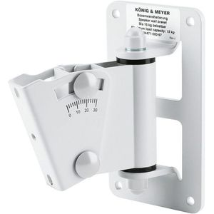 Konig & Meyer 24471 Speaker Wall Mount White kép