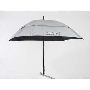 Jucad Umbrella Square & Windproof Silver kép