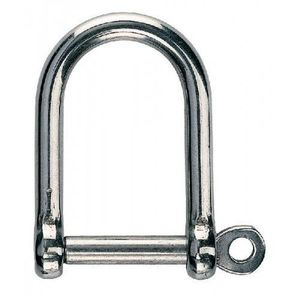 Osculati D - Shackle Stainless Steel WIDE JAW 12 mm kép