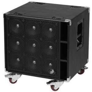 Phil Jones Bass C9 Compact 9 Bass Cabinet 9x5'' 900 Watts Black kép
