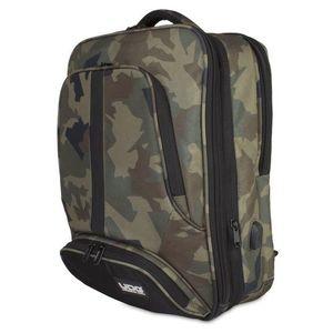 UDG Ultimate Backpack Slim Black Camo Orange Inside kép