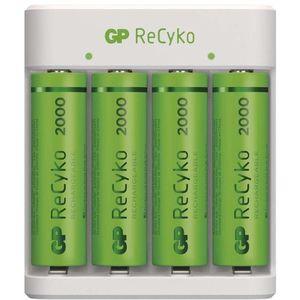 GP Eco E411 + 4× AA ReCyko 2000 kép