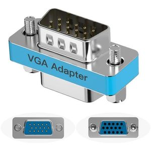 Vention VGA Male to Female Adapter Silvery Metal Type kép