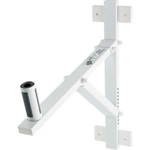 Konig & Meyer 24110 Speaker Wall Mount White kép
