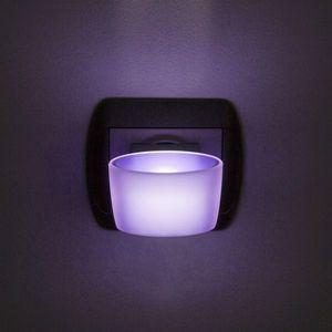 Phenom éjszakai jelzőfény érintőkapcsolóval lila kép