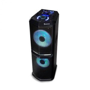 """Auna Clubmaster 8000, party audio rendszer, 8000 W-ig P.M.P.O, 2 x 10""""-es woofer kép"""