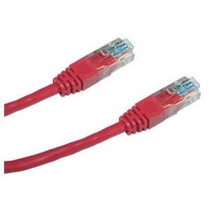 Datacom, CAT6, UTP, 0.25m piros kép