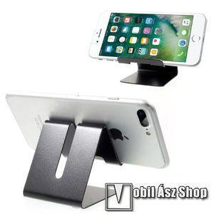 UNIVERZÁLIS asztali telefon tartó, állvány - FEKETE kép
